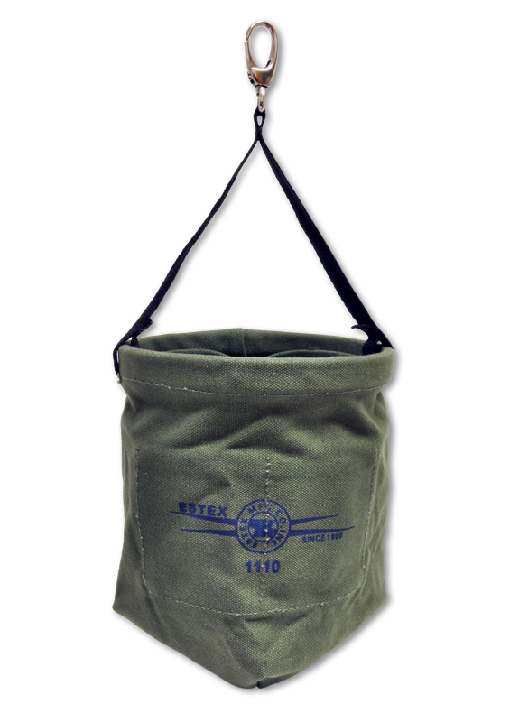 Nut & Bolt Bag, Heavy Green Canvas Duck, Suspension Style