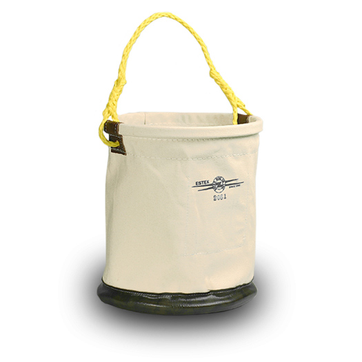 "Tool Bucket, 12"" x 15"" Leather Bottom"