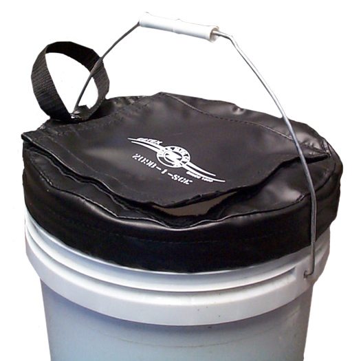 Vinyl Tool Bucket Cover for 10-inch diameter buckets