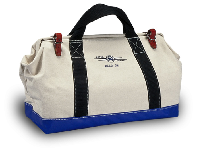 "Tool Bag 24"" W/#4 Canvas"