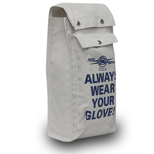 Canvas Glove Bag W/Pocket