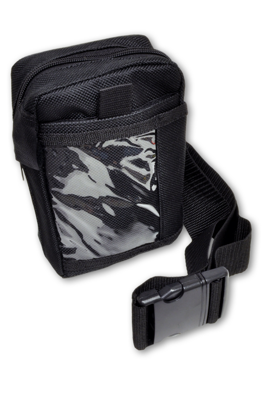 Belt and Black ID Pouch