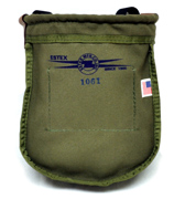 Nut & Bolt Bag, Heavy Green Canvas Duck