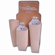 Lineman's Leather Tool Pouch, 3-Pocket