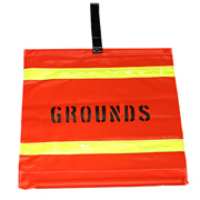 Grounds Warning Placard
