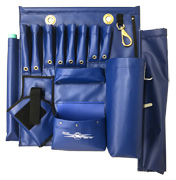Tall Blue Aerial Tool Apron