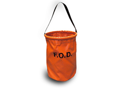 Orange FOD Tool Bucket, Small