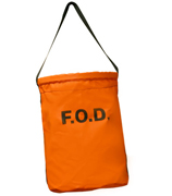 Orange FOD Tool Bucket, Large