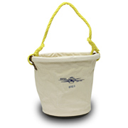"Tapered Tool Bucket, 12"" x 8"" x 12"" Plastic Bottom"