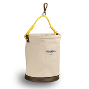 "Tool Bucket, 12"" x 17"" Leather Bottom, Snap"