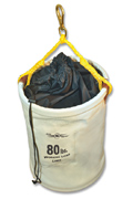 Rated Tool Bucket with Nylon Cinch Closure