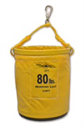 "Tool Bucket, 12"" x 15"" Vinyl, Plastic Bottom W/Snap"