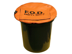 Secure Bucket Cover w/ Flap Top, Small