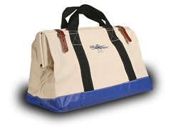 "Tool Bag 22"" W/#4 Canvas, 1 Inside Pocket"