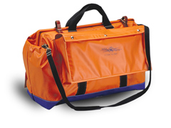 "Tool Bag 24"" W/Heavy Vinyl Coated Nylon & 1 Large O/S Pocket"