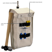 Canvas Ampact Tool Bag