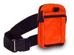 Belt and Orange ID Pouch