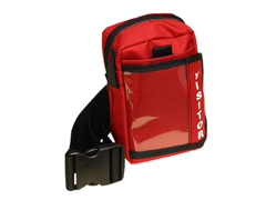Belt and Red ID Pouch