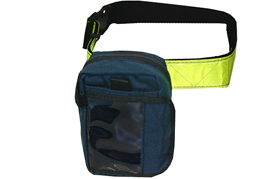 Reflective Adjustable Belt and ID Pouch