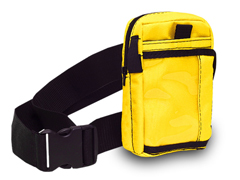 Belt and Yellow ID Pouch